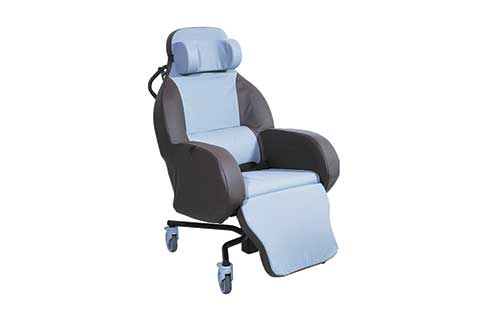Integra Shell Seat designed for nursing homes