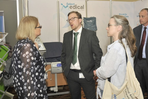 Talking to delegates about our Pure Air 8 & Flexi mattresses